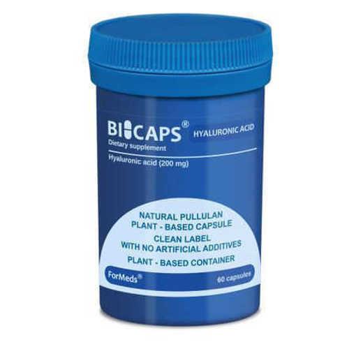 Xранителна добавка ForMeds, Bicaps Hyaluronic acid x 60 cps
