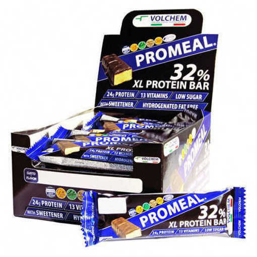 Кутия с 20 бр. Протеинов бар VOLCHEM Promeal XL Protein 32% от 75 г.