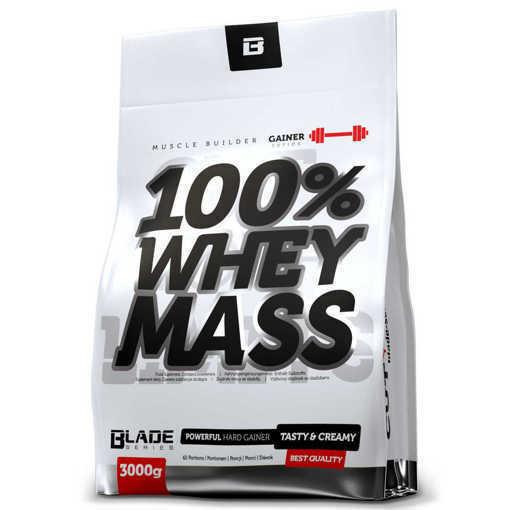 Xранителна добавка Hi Tec Nutrition-Blade Series, 100% Whey Mass x 3000 g