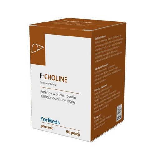 Снимка на Xранителна добавка ForMeds F-Choline x 42 g