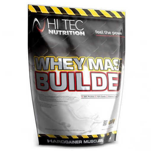 Снимка на Xранителна добавка Hi Tec Nutrition, Whey Mass Builder x 3000 g