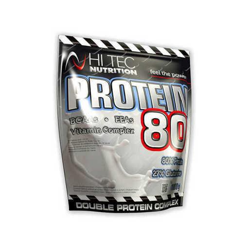 Снимка на Xранителна добавка Hi Tec Nutrition, Protein 80 x 2250 g