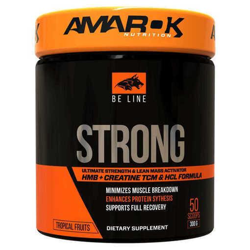 Снимка на Хранителна добавка Amarok Nutrition Be Strong , 300 грама