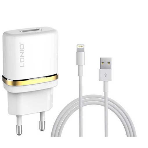 Снимка на Мрежово зарядно устройство, LDNIO DL-AC50