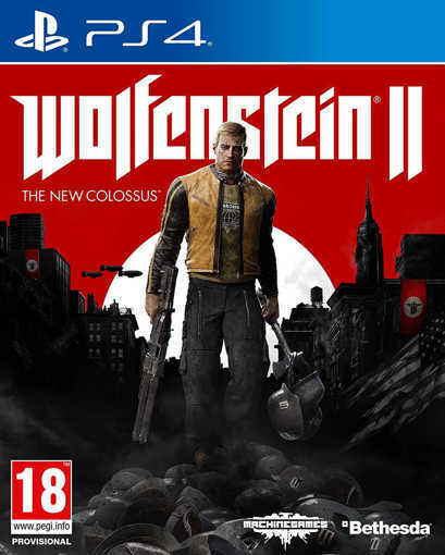 Игра Wolfenstein II The New Colossus за PS4