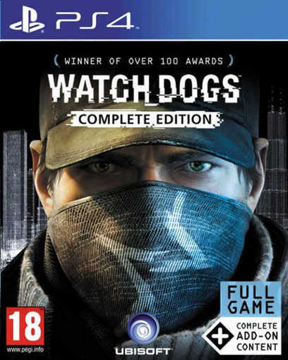 Игра Watch Dogs Complete Edition за PS4
