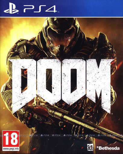 Снимка на Игра DOOM за PS4