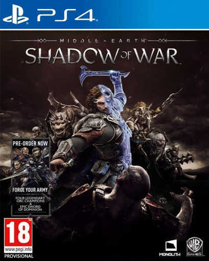 Игра Middle Earth: Shadow Of War за PS4