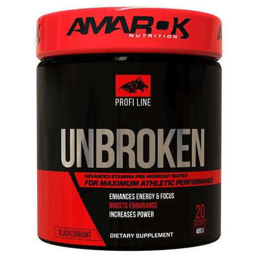 Хранителна добавка Unbroken Amarok Nutrition, 400 грама