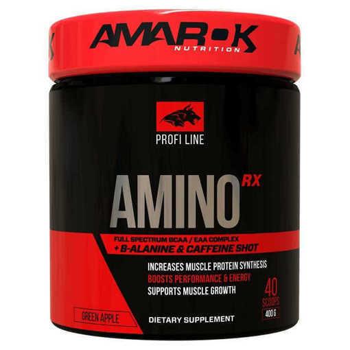 Снимка на Хранителна добавка Amino RX Amarok Nutrition, 400 грама