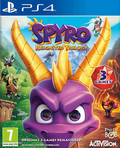 Снимка на Игра Spyro Reignited Trilogy за PS4