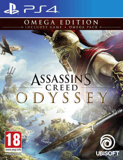 Игра Assassin's Creed: Odyssey за PS4