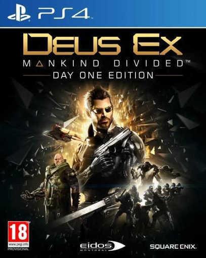 Снимка на Игра Deus Ex Mankind Divided Day One Edition за PS4