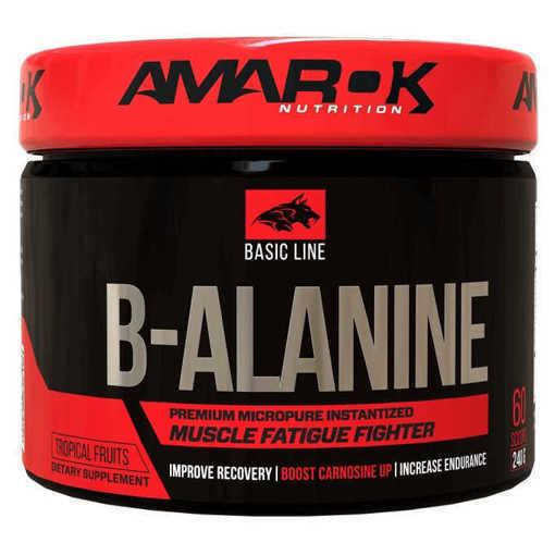 Xранителна добавка Amarok Nutrition, Basic B-Alanine x 240 g