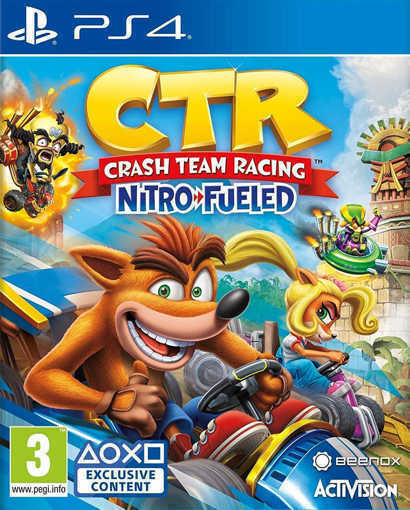 Игра Crash Team Racing Nitro-Fueled за PS4