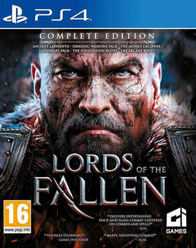 Игра Lords Of The Fallen Complete Edition за PS4