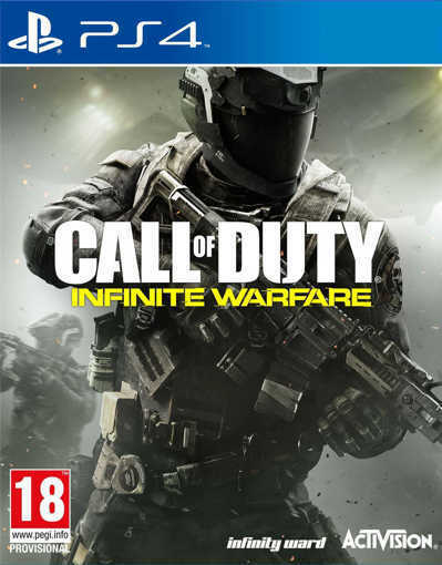 Игра Call of Duty: Infinite Warfare за PS4