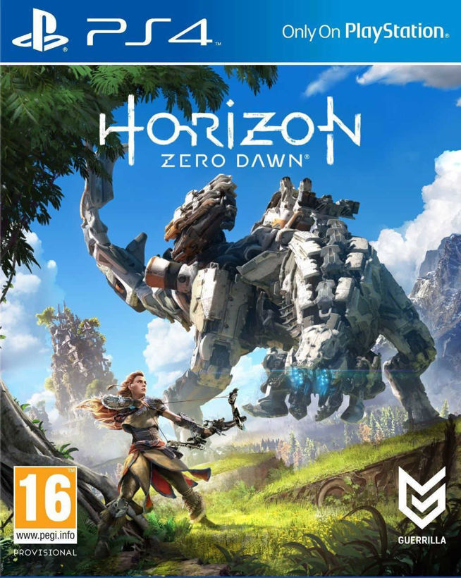Игра Horizon Zero Dawn за PS4