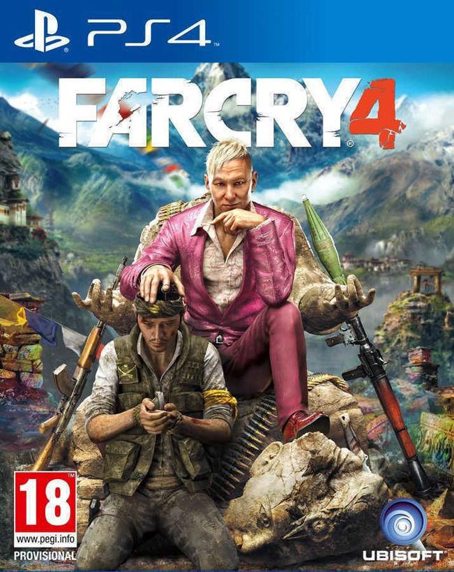 Игра Far Cry 4 за PS4