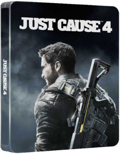 Игра Just Cause 4 - Steelbook Edition за PS4