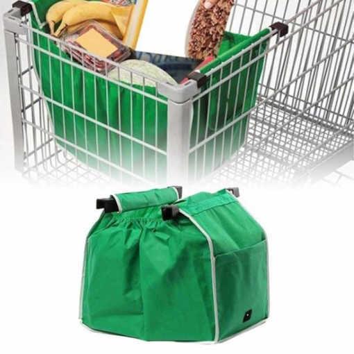 Компактна чанта за пазар Grab Bag, Зелена