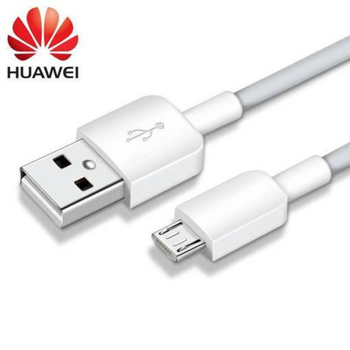 Снимка на HUAWEI microUSB 1.0m New White (Bulk) - Оригинален кабел