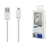 Снимка на SAMSUNG Fast Charge microUSB 1.5m White / Black - Оригинален кабел за Бързо Зареждане