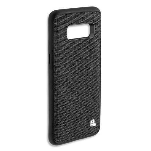 Снимка на 4SMARTS Car-Case SAMSUNG S8 Black - Кейс с Tекстилен Eфект