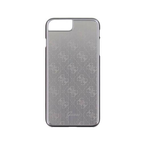 Снимка на Лицензиран Алуминиев Кейс - GUESS Aluminium Case iPhone 8/7 Plus Silver
