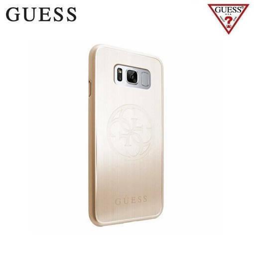 Снимка на Лицензиран алуминиев кейс - GUESS Aluminium Case SAMSUNG S8 Gold