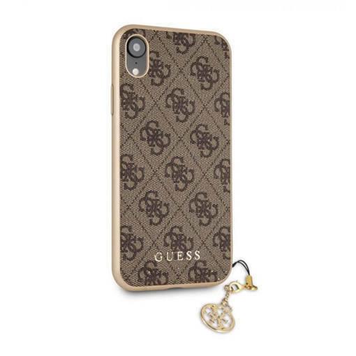 Снимка на Лицензиран кожен кейс - GUESS Charms Case iPhone XR Brown