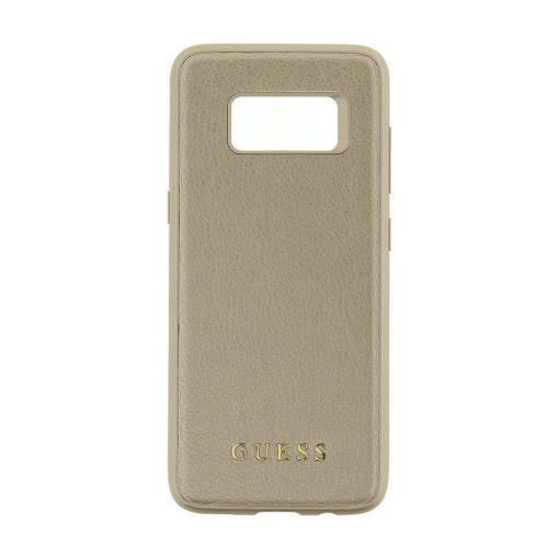 Снимка на Лицензиран кожен кейс - GUESS Leather Case SAMSUNG S8 Gold