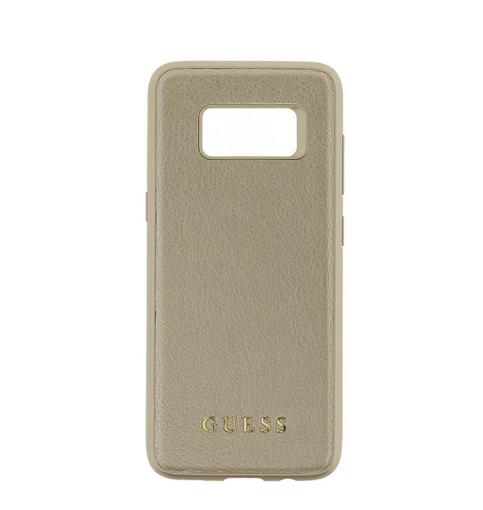 Снимка на Лицензиран Кожен Кейс - GUESS Leather Case SAMSUNG S8 Plus Gold