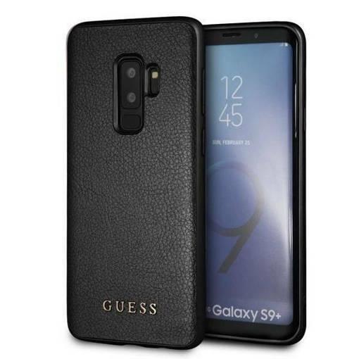 Снимка на Лицензиран кожен кейс - GUESS Leather Case SAMSUNG S9 Plus Black
