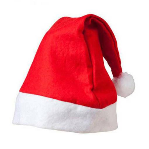 Снимка на Класическа коледна шапка за новогодишно и коледно парти