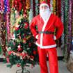Снимка на Костюм на Дядо Коледа за възрастни универсален размер 5 части комплект