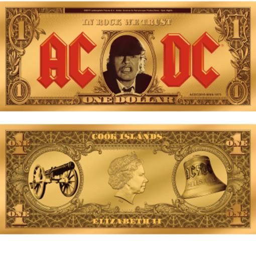 Снимка на Златна банкнота AC/DC