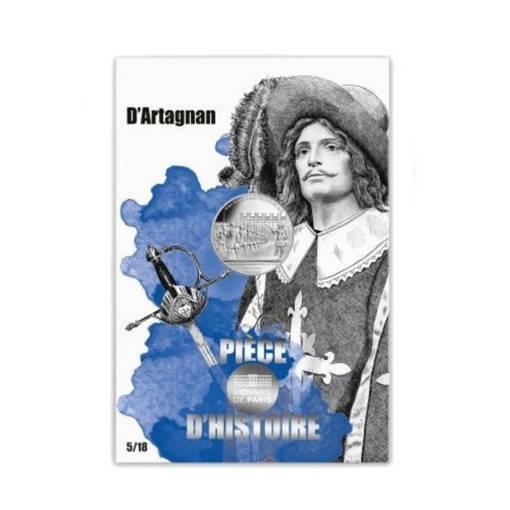 """Снимка на Сребърна монета """"Д'Артанян"""""""