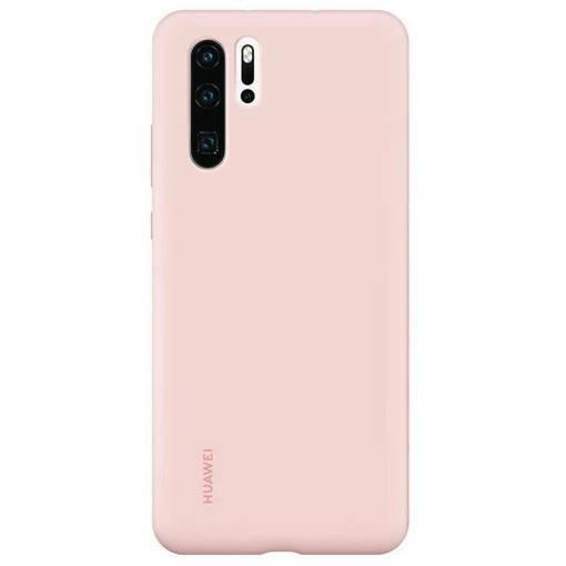 Снимка на HUAWEI P30 Pro Soft Silicone Case Pink - Оригинален силиконов кейс
