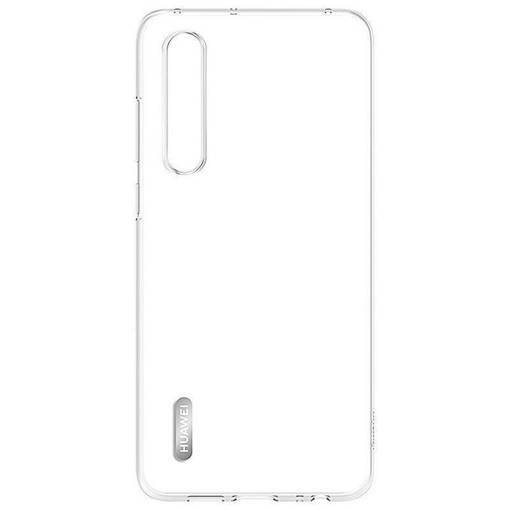Снимка на Оригинален силиконов кейс - Huawei Elle P30 Clear Case Transparent