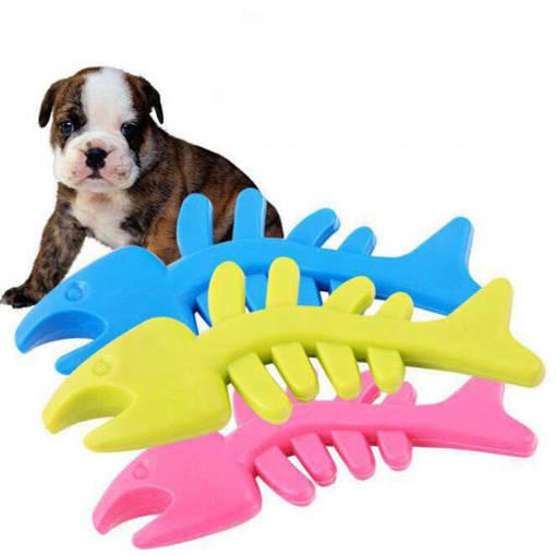 Снимка на Гумена играчка за куче риба кучешки играчки за дъвчене