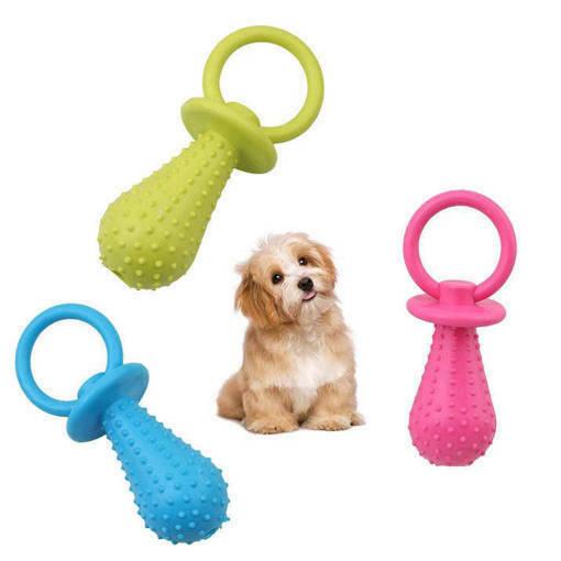 Кучешка играчка биберон със звънче играчка за куче