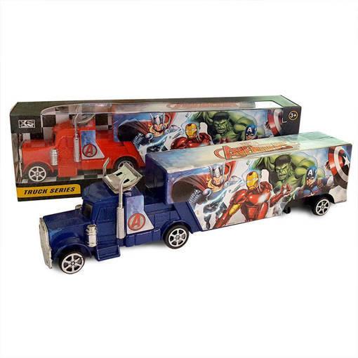 Снимка на Малък детски камион MARVEL AVENGERS