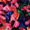 Снимка на Цветни балони за рожден ден парти декорация 100 броя в пакет 5 цвята