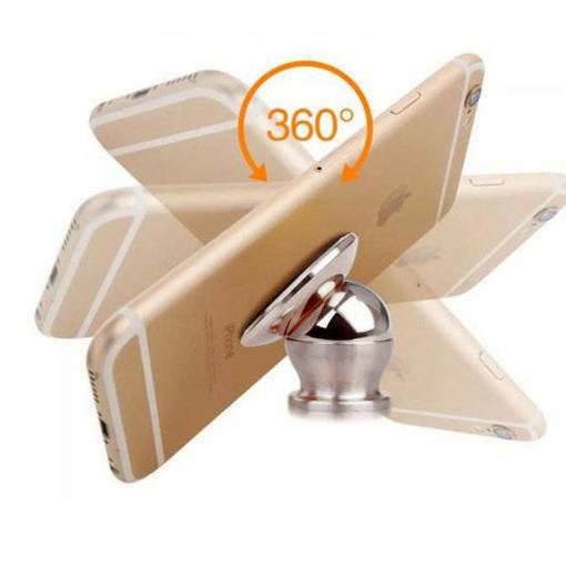 Снимка на Универсална магнитна стойка за телефон за табло на кола с лого на автомобили BMW KIA HONDA ПЕЖО
