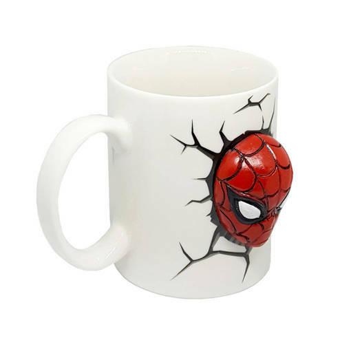 Снимка на Керамична 3D чаша Спайдърмен Avengers infinity war 250ml