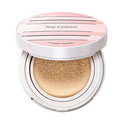 Etude House - Фон дьо тен (къшън) -  Any Cushion All Day Perfect SPF50+/PA+++ (#Beige)