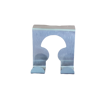 Метална закачалка за вратичка на шкаф с две куки за закачане