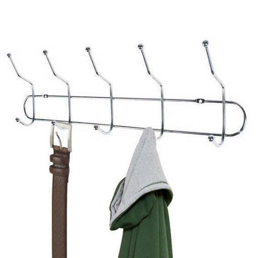 Метална закачалка за стена - антре или баня