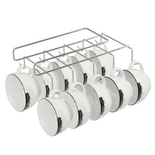 Метална стойка поставка закачалка за чаши и прибори
